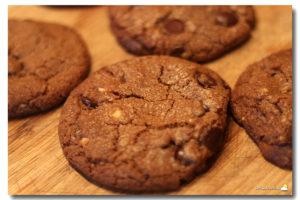 Cookies aux pépites de chocolat & aux noisettes torréfiées