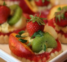 Tartelette aux fruits & à la crème pâtissière