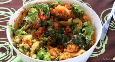 Salade de boulgour relevée